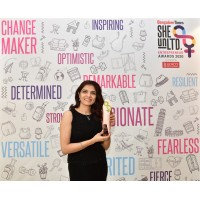 Divya Kalra our Co-Founder, wins the Times of India Women Entrepreneur 2020 She Unlimited Awards