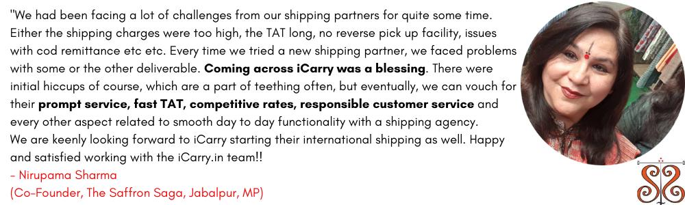 Saffronsaga iCarry Review